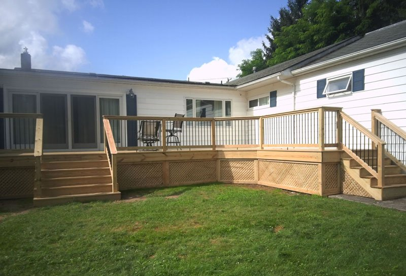 Stone Contracting Services - Deck Project