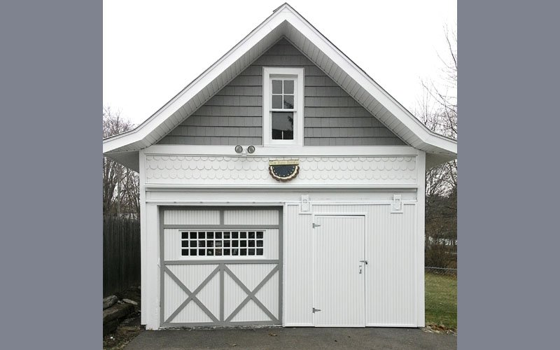 Stone Contracting Services - Garage Project